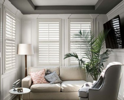 Enchanting Plantation Shutters Ideas That Perfect For Every Style 43