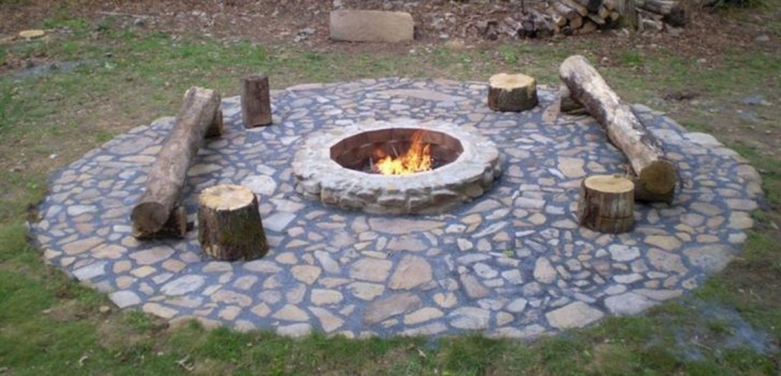 Modern Diy Firepit Ideas For Your Yard This Year 11