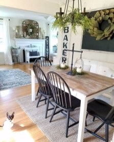 Relaxing Farmhouse Dining Room Design Ideas To Try 21