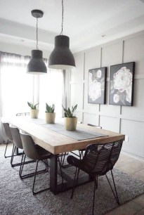 Relaxing Farmhouse Dining Room Design Ideas To Try 37