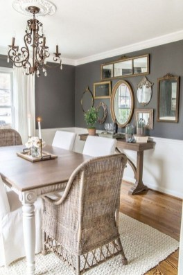 Relaxing Farmhouse Dining Room Design Ideas To Try 52