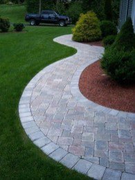 Unordinary Diy Pavement Molds Ideas For Garden Pathway To Try 36