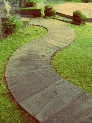 Unordinary Diy Pavement Molds Ideas For Garden Pathway To Try 41