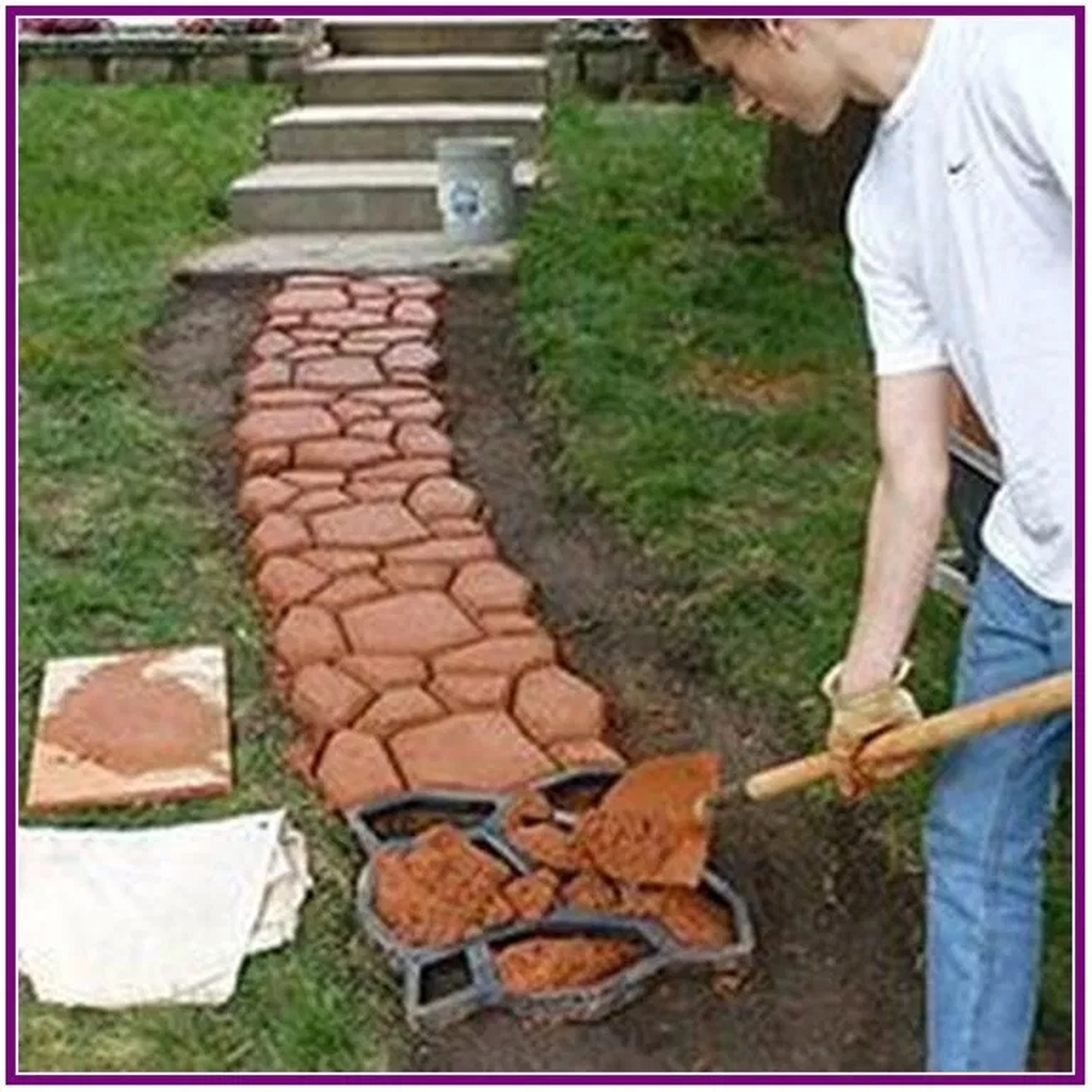 Unordinary Diy Pavement Molds Ideas For Garden Pathway To Try 50