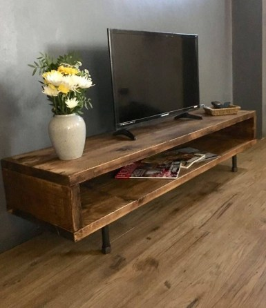 Unordinary Tv Stand Design Ideas For Small Living Room 08