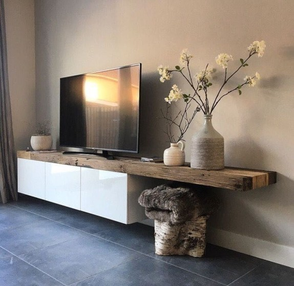 Unordinary Tv Stand Design Ideas For Small Living Room 29