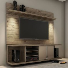 Unordinary Tv Stand Design Ideas For Small Living Room 51