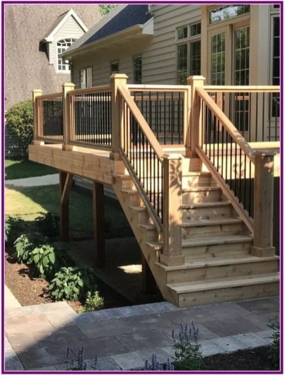 Admiring Deck Railling Ideas That Will Inspire You 07