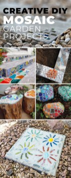 Amazing Diy Mosaic Decorations Ideas To Inspire Your Own Garden 31