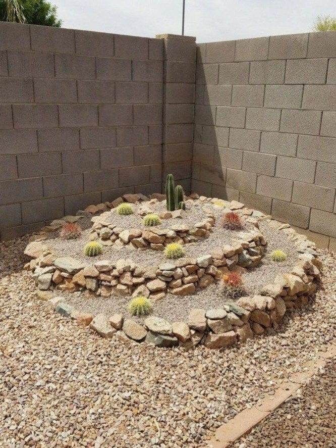 Awesome Succulent Garden Ideas In Your Backyard 43