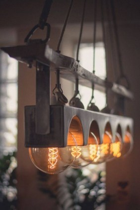 Best Handmade Industrial Lighting Designs Ideas You Can Diy 08