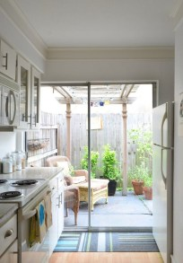 Comfy Kitchen Balcony Design Ideas That Looks Cool 13