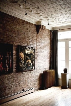 Delicate Exposed Brick Wall Ideas For Interior Home Design 15