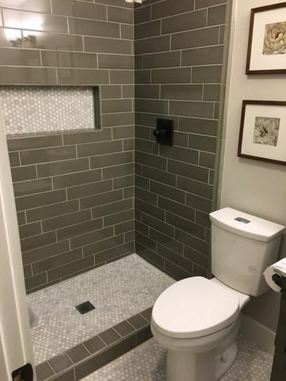 Hottest Small Bathroom Remodel Ideas For Space Saving 53