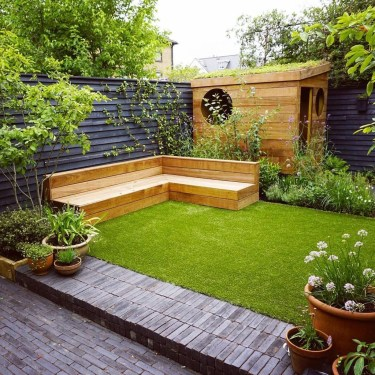 Impressive Small Garden Ideas For Tiny Outdoor Spaces 09