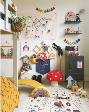 Latest Kids Room Design Ideas That Will Make Kids Happy 06