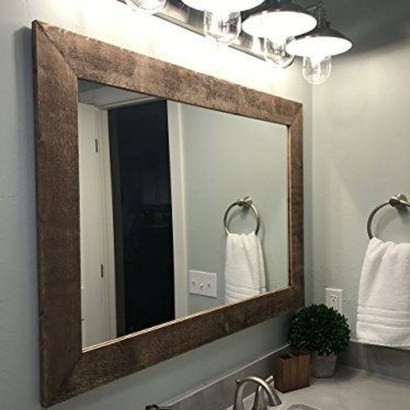 Newest Bathroom Mirror Decor Ideas To Try 01