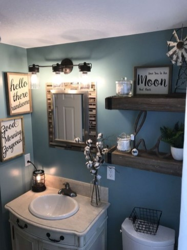Newest Bathroom Mirror Decor Ideas To Try 07