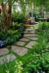 Popular Garden Path And Walkway Ideas To Your Outdoor Space 19