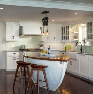 Splendid Coastal Nautical Kitchen Ideas For This Season 12