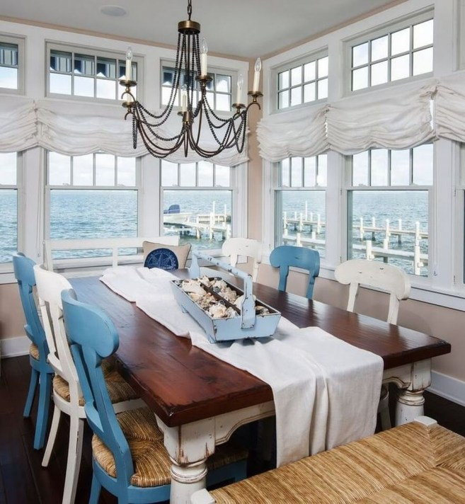 Splendid Coastal Nautical Kitchen Ideas For This Season 45