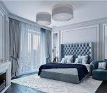 Top Blue Master Bedroom Design Ideas That Looks Great 18