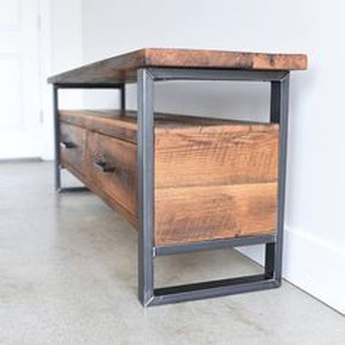 Trendy Wood Industrial Furniture Design Ideas To Try 47