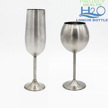 verre à vin stainless
