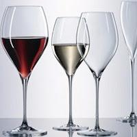 verre à vin très fin