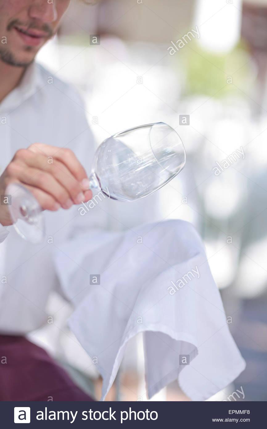 verre à vin nettoyage