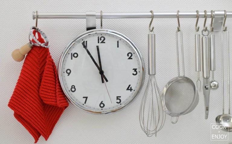 COOK and ENJOY Blog Zeit sparen beim Kochen mit der Planung