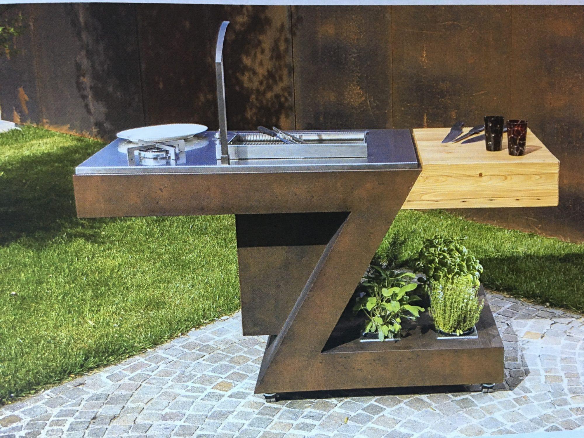 meuble z cuisine exterieure complete
