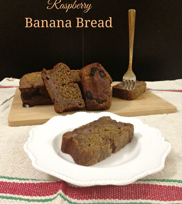 Raspberry Banana Bread2