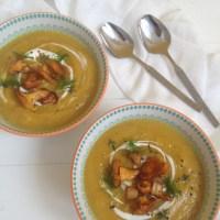 Kremna lisičkina juha