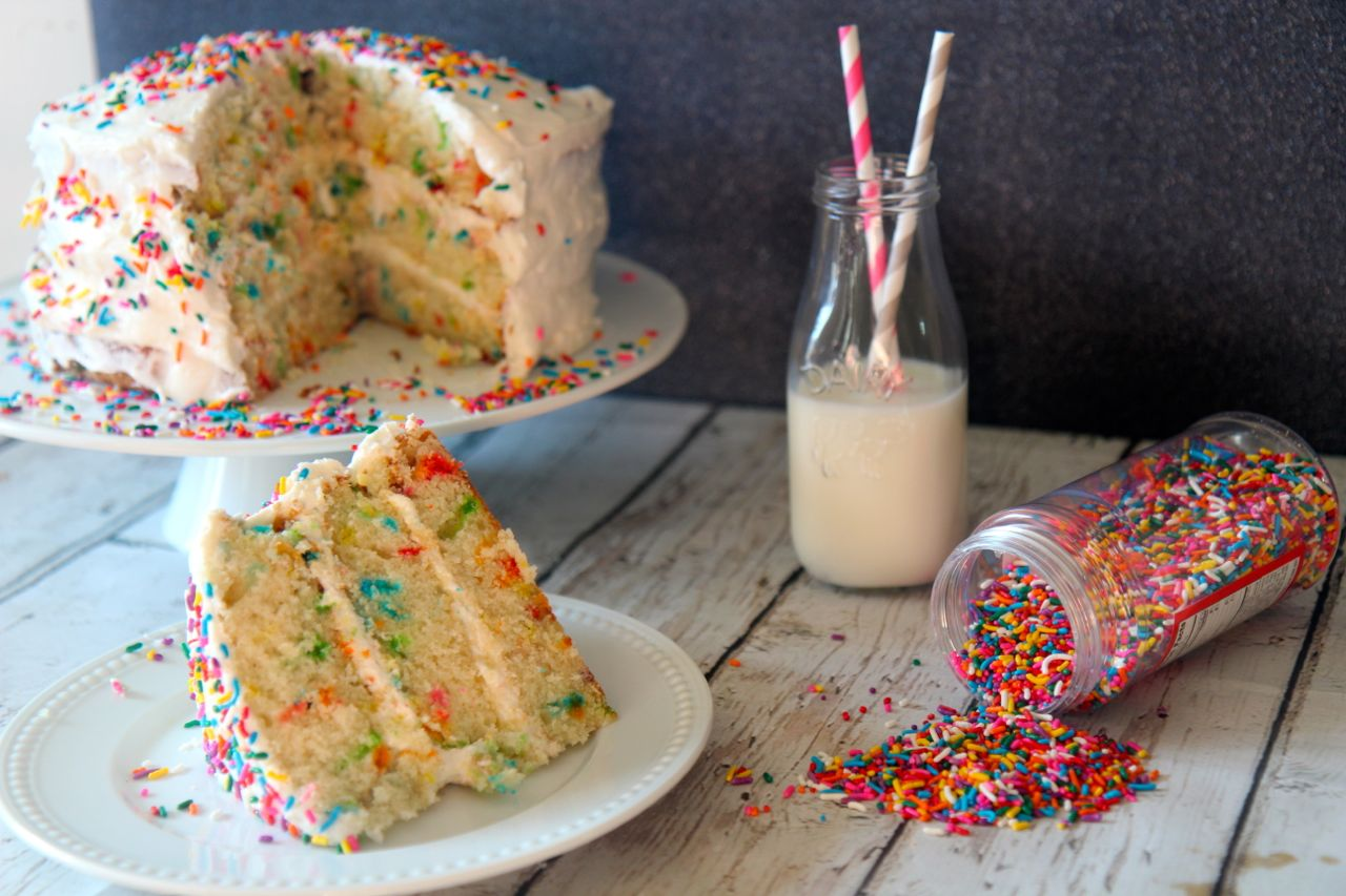 Confetti Cake | Cooked by Julie