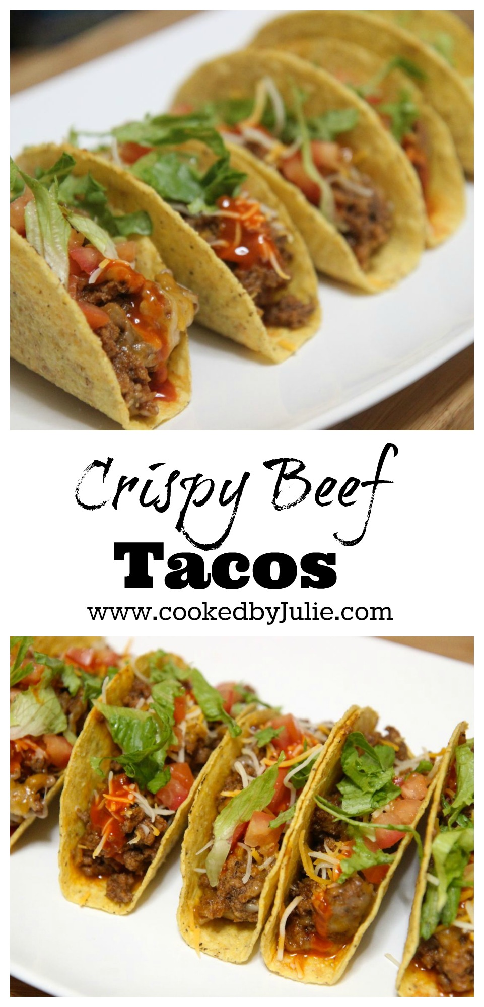 Learn how to make Crispy Beef Tacos from Cooked by Julie