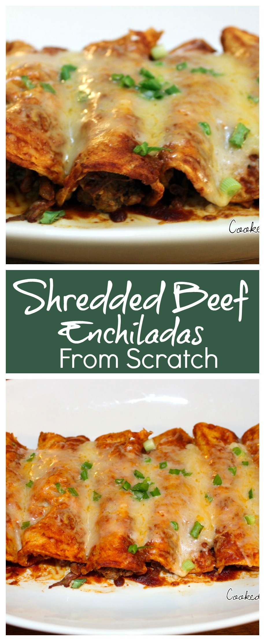 Shredded Beef Enchiladas from Scratch | How to Make Shredded Beef Enchiladas