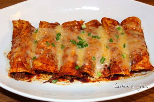 Shredded Beef Enchilada Recipe