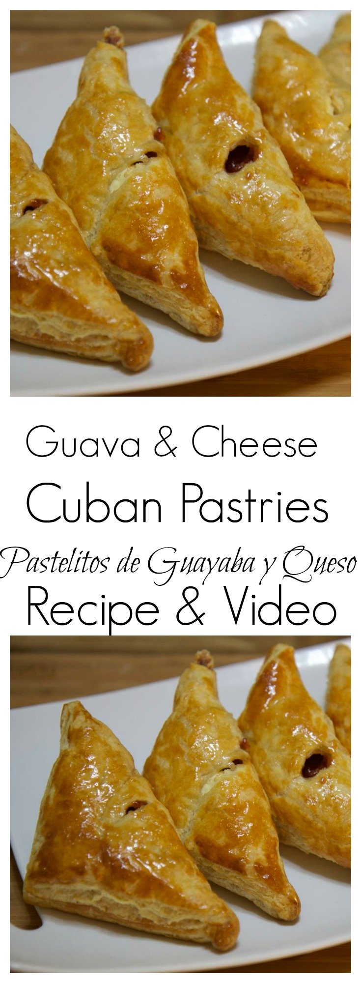 Learn how to make these guava and cheese cuban pastries from Cookedbyjulie.com today!