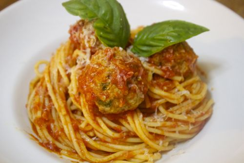 Spaghetti & Meatballs by Cooked By Julie