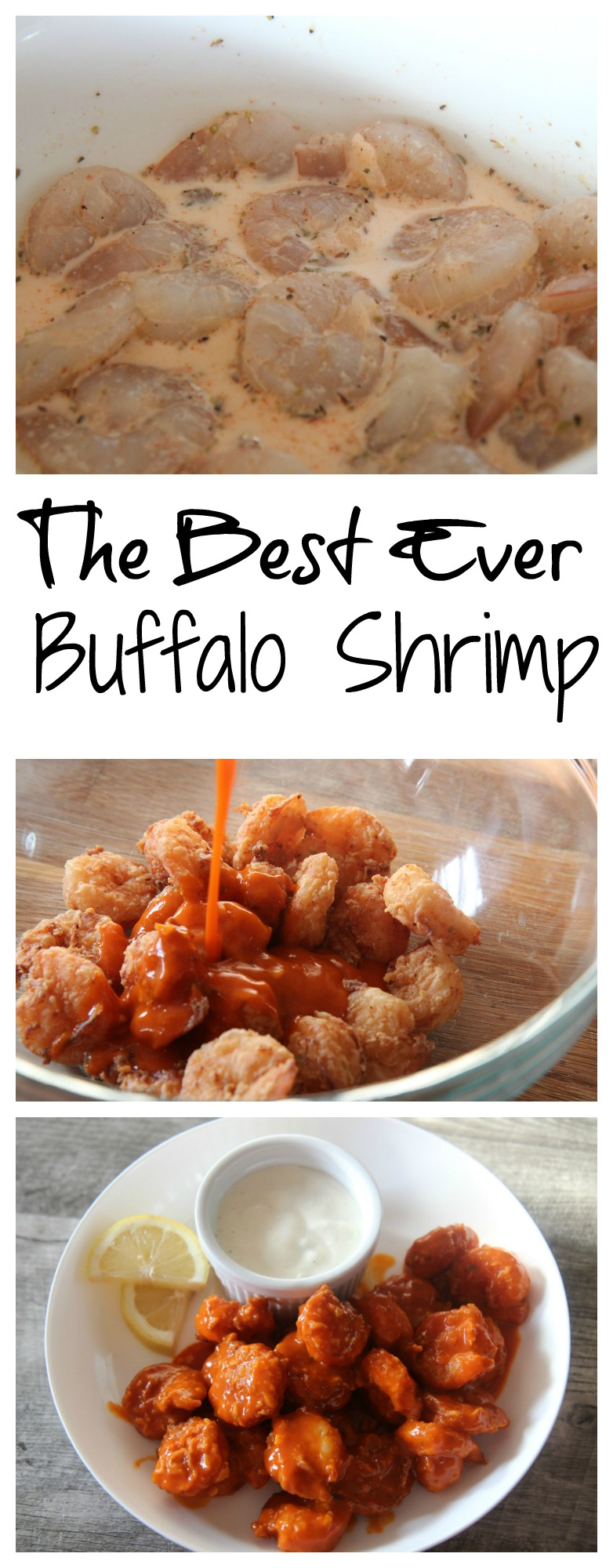 The Best Ever Buffalo Shrimp from Cooked by Julie!