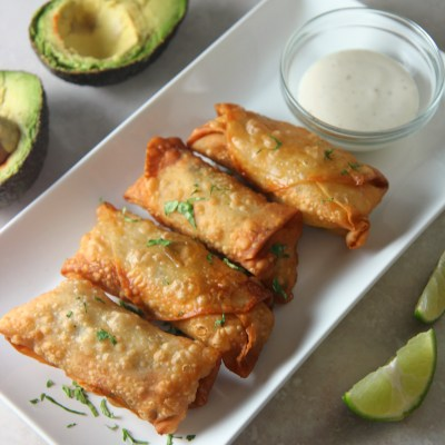 Chicken Avocado Eggrolls