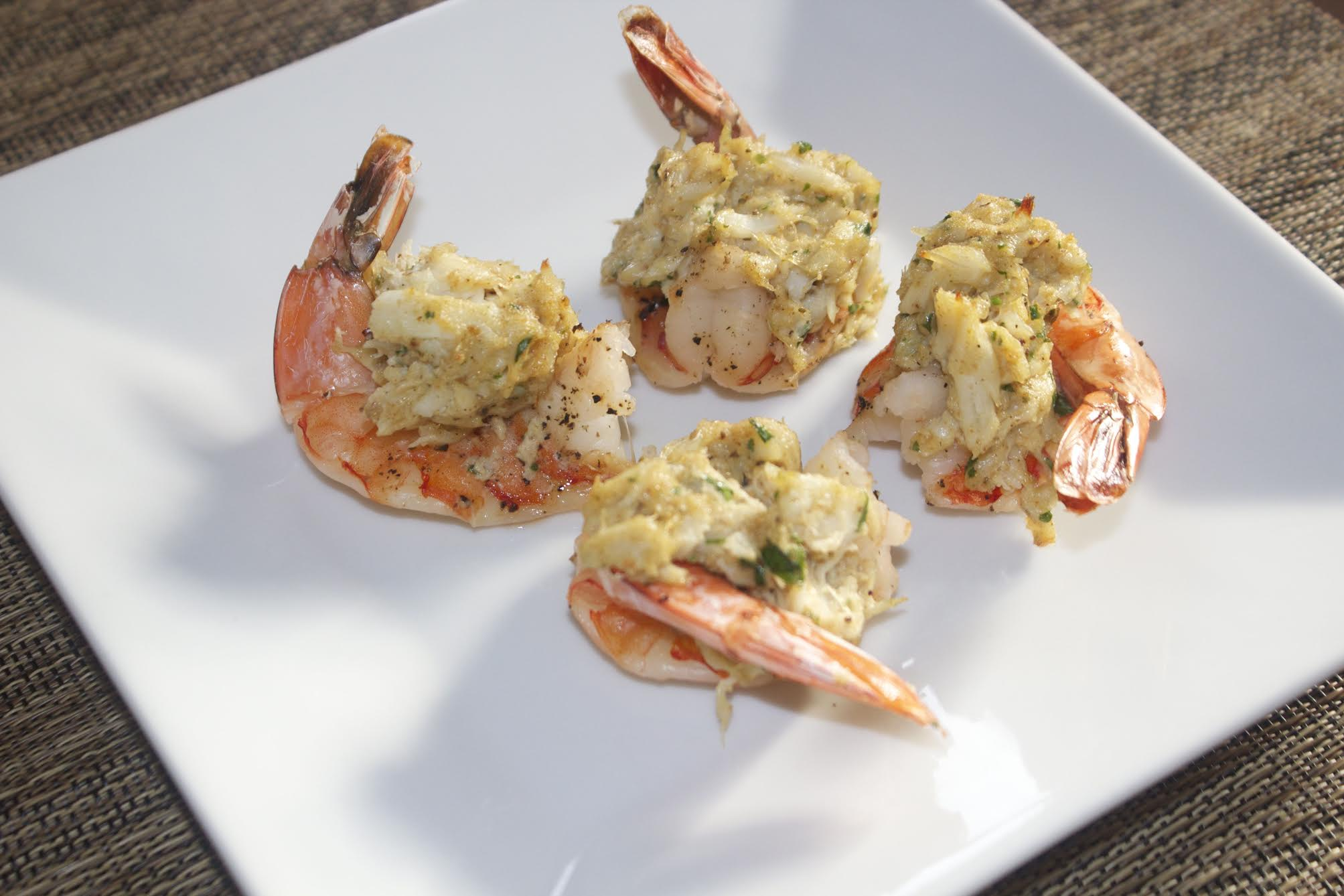 Delicious stuffed shrimp from Cooked by Julie
