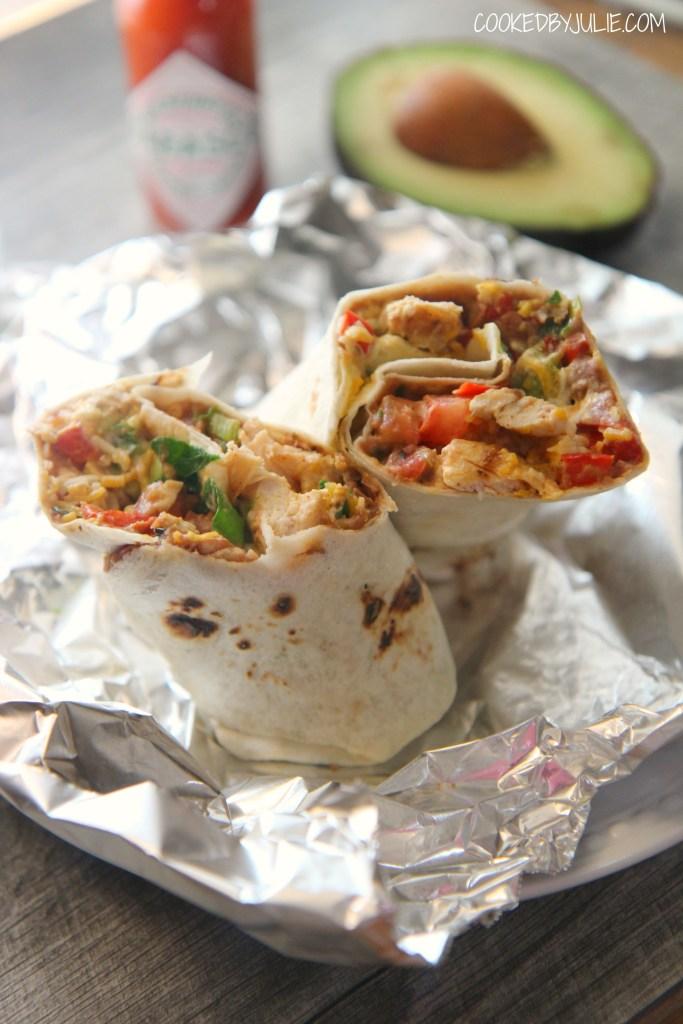 Tex-Mex Grilled Chicken Wrap