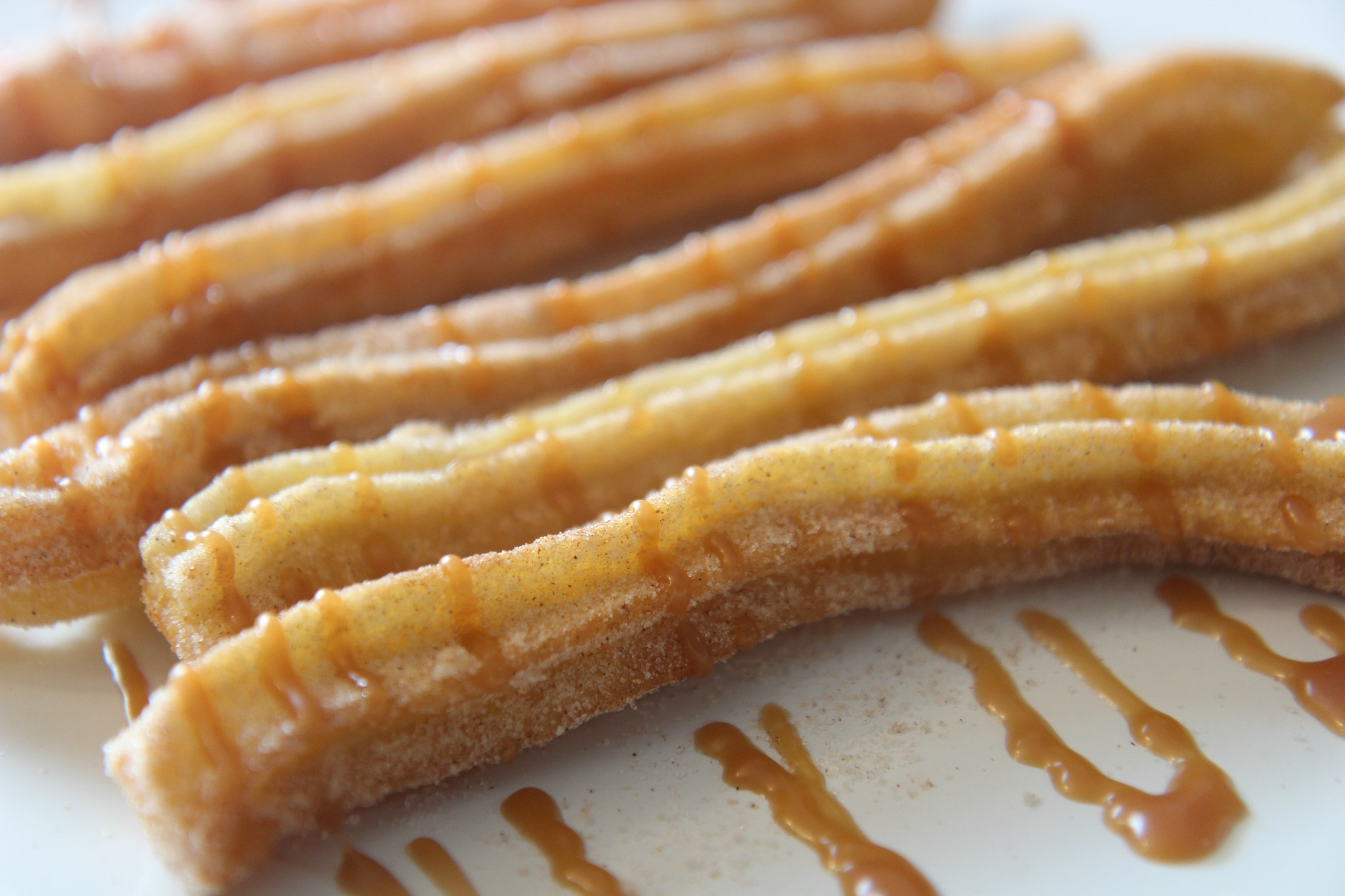 You can drizzle them with caramel as well.