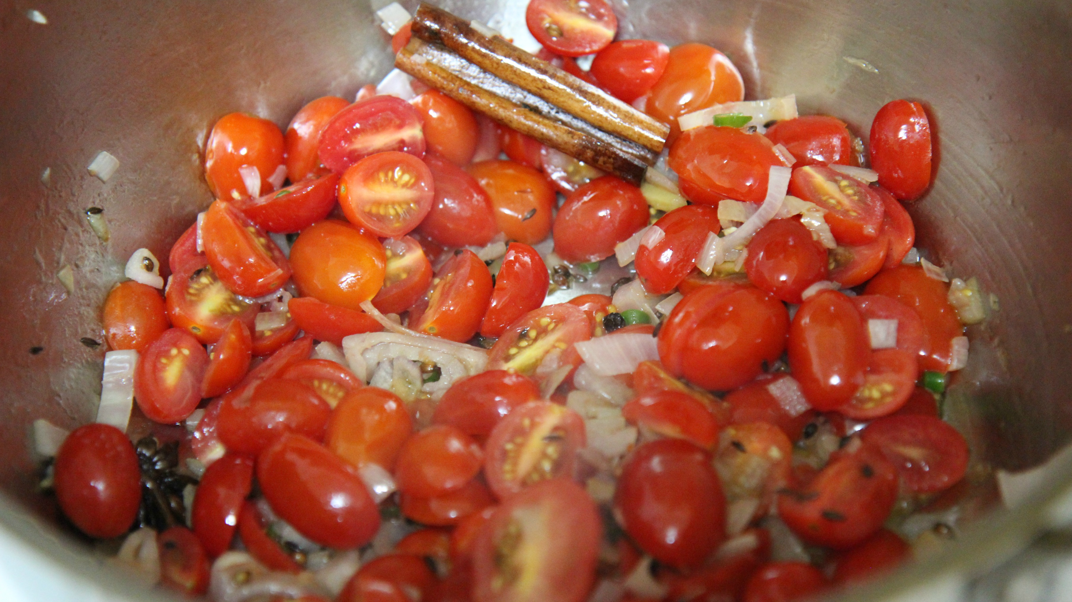 Sauce the veggies before blending them.