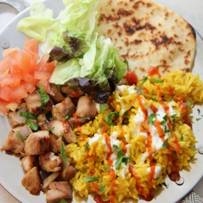 Halal NYC Cart Chicken and Rice