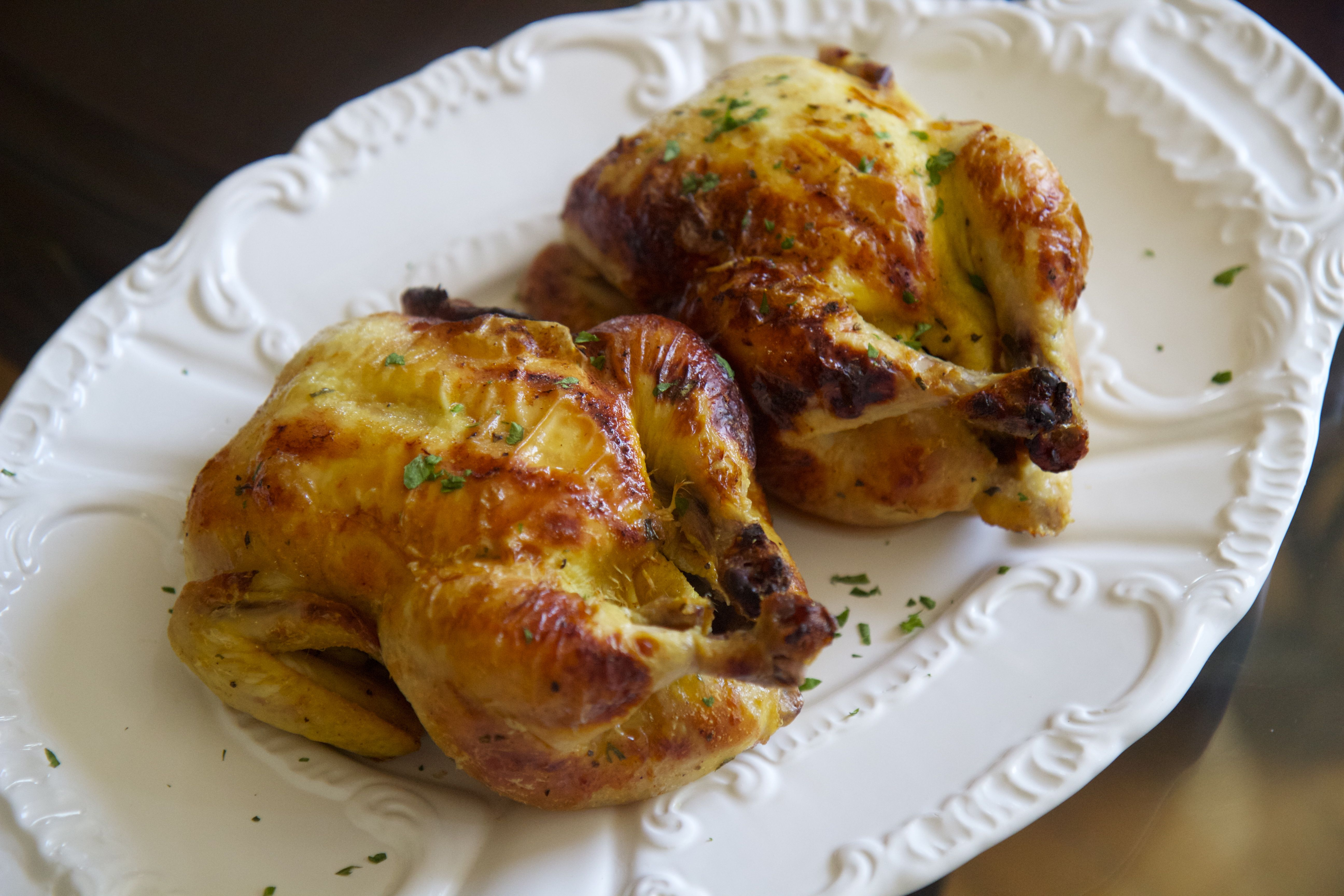 Buttermilk Brined Cornish Game Hen, these chickens are a crowd pleaser!