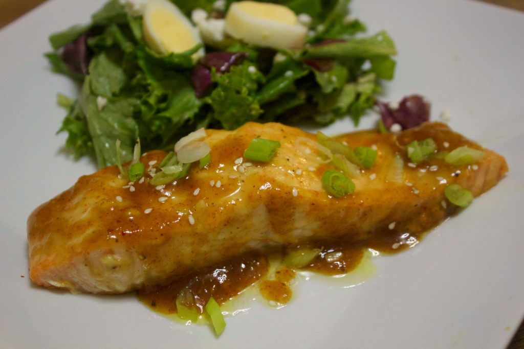 Spicy Mustard Salmon