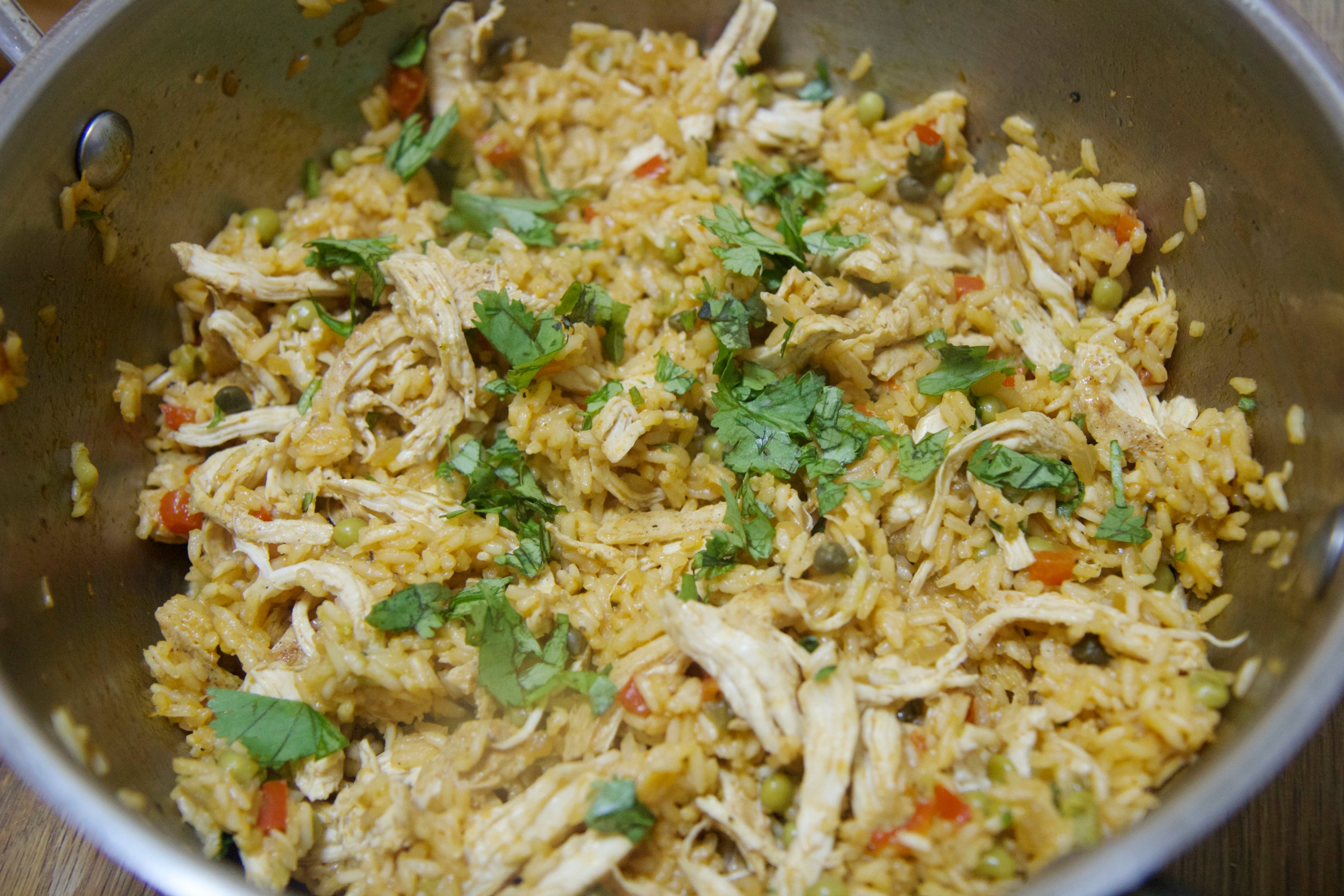 Shredded Chicken and Rice | Cooked by Julie